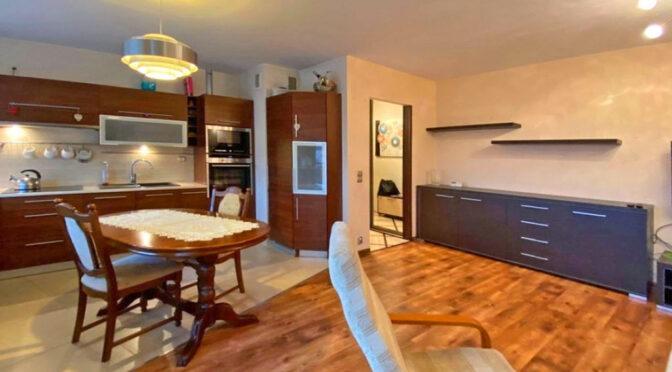 komfortowe wnętrze luksusowego apartamentu na wynajem Szczecin (okolice)