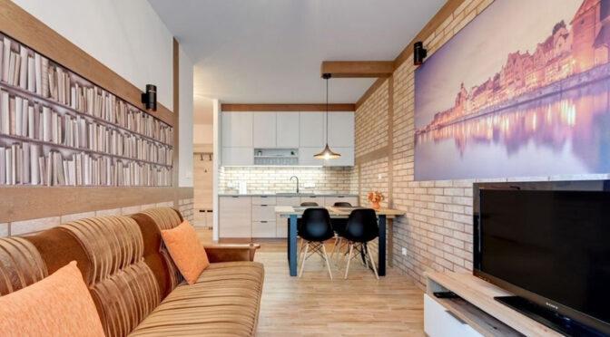 zaprojektowane zgodnie z najnowszymi trendami wnętrze luksusowego apartamentu do sprzedaży Gdańsk