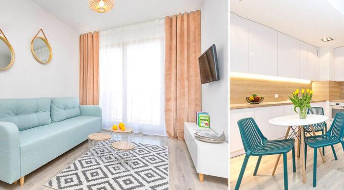 minimalistyczna aranżacja wnętrza luksusowego apartamentu do sprzedaży Gdańsk