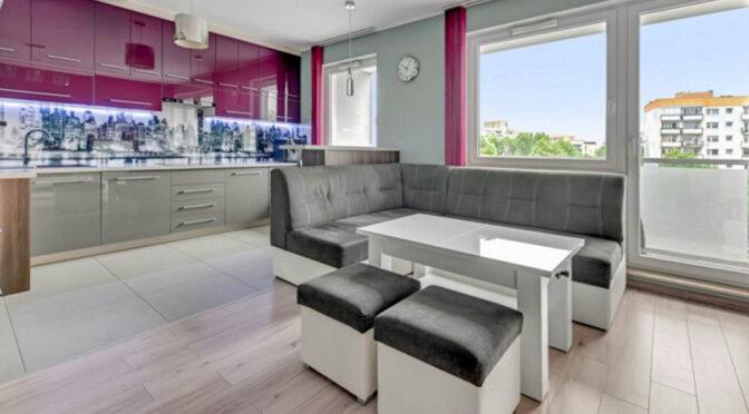 zaprojektowane zgodnie z najnowszymi trendami wnętrze ekskluzywnego apartamentu do sprzedaży Gdańsk
