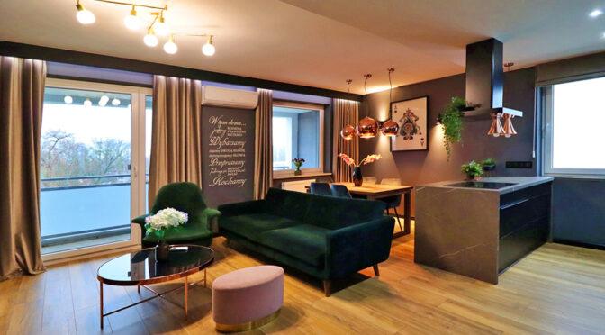 kameralne wnętrze luksusowego apartamentu do sprzedaży Gorzów Wielkopolski