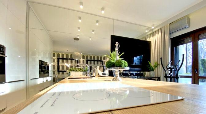 nowoczesny design wnętrza ekskluzywnego apartamentu do sprzedaży Inowrocław