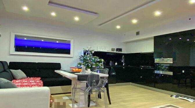 zaprojektowane zgodnie ze współczesnymi trendami wnętrze luksusowego apartamentu na sprzedaż Szczecin