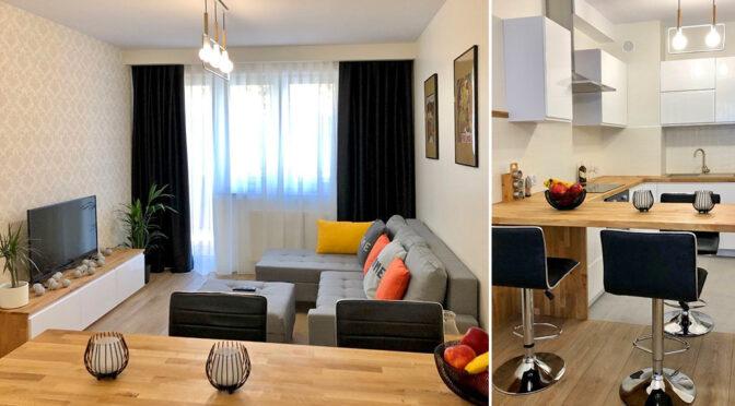 nowoczesna aranżacja wnętrze ekskluzywnego apartamentu do wynajęcia Szczecin