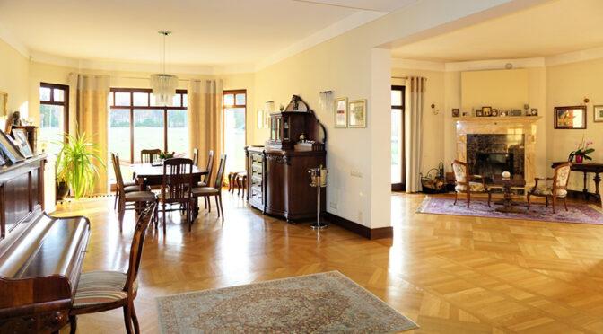 eleganckie wnętrze luksusowej rezydencji na sprzedaż Częstochowa (okolice)