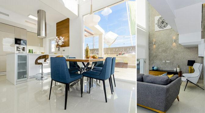 imponujące rozmachem wnętrze luksusowej rezydencji na sprzedaż