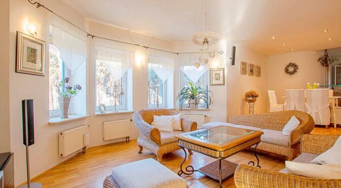 imponujące elegancją wnętrze luksusowej rezydencji na sprzedaż Poznań