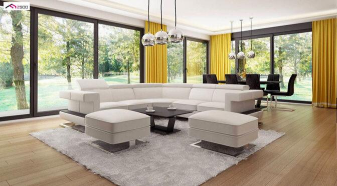 zaprojektowane zgodnie z najnowszymi trendami wnętrze ekskluzywnej rezydencji do sprzedaży Kalisz