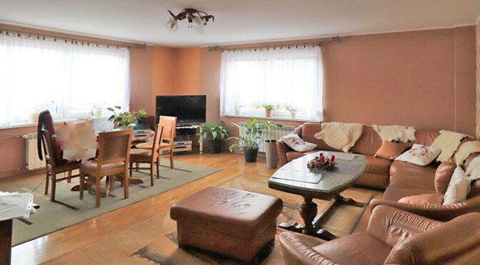 elegancki salon w ekskluzywnej rezydencji do sprzedaży Wisła (okolice)
