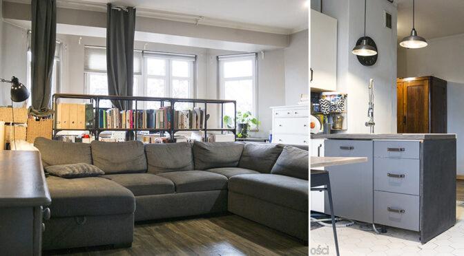 wytworne wnętrze salonu w ekskluzywnym apartamencie na sprzedaż Katowice (okolice)