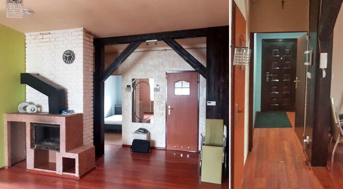 kameralne wnętrze ekskluzywnego apartamentu na sprzedaż Żagań (okolice)