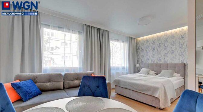 elegancki salon w luksusowym apartamencie do sprzedaży Gdańsk