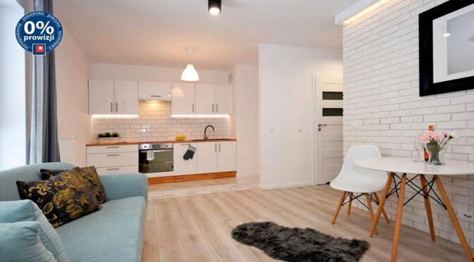 salon i aneks kuchenny w ekskluzywnym apartamencie do sprzedaży Lublin