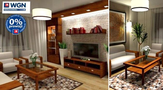 dwa ujęcia salonu w luksusowym apartamencie do sprzedaży nad morzem