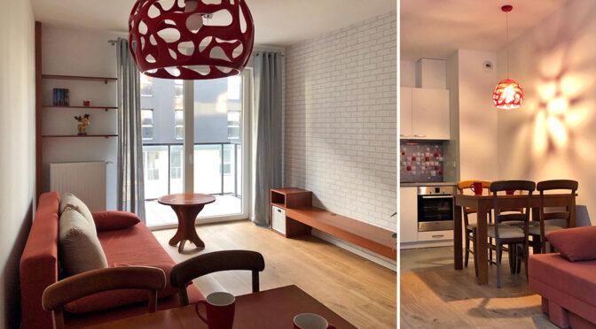 kameralne wnętrze luksusowego apartamentu do wynajęcia Łódź