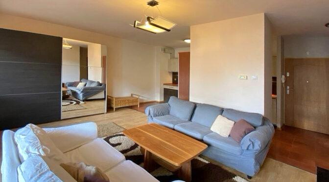 prestiżowy pokój dzienny w ekskluzywnym apartamencie do wynajęcia Szczecin