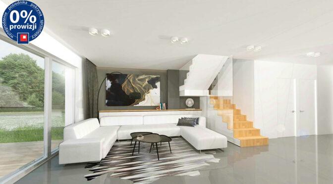 dwa poziomy luksusowego wnętrza w ekskluzywnej rezydencji na sprzedaż Katowice (okolice)