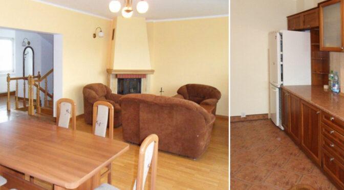 przestronny salon w luksusowej rezydencji na sprzedaż Piotrków Trybunalski