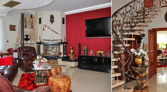 wytworne wnętrze ekskluzywnej rezydencji na sprzedaż Trzebinia