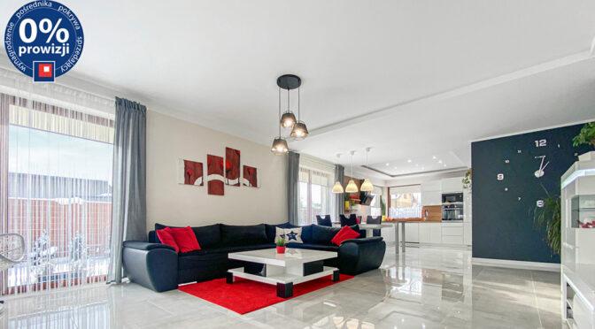 nowoczesny salon w ekskluzywnej rezydencji do sprzedaży Katowice (okolice)