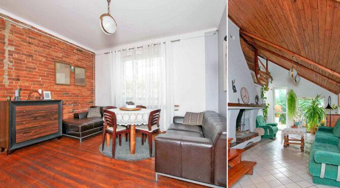 po lewej salon, po prawej komfortowe pomieszczenie w ekskluzywnej rezydencji do sprzedaży Poznań (okolice)