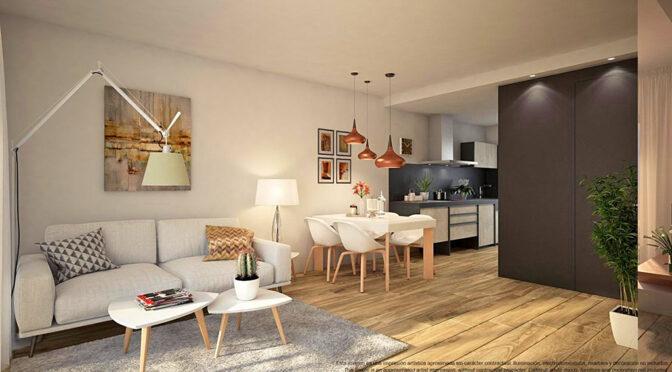 luksusowy pokój dzienny w ekskluzywnym apartamencie na sprzedaż Hiszpania (Costa Blanca)