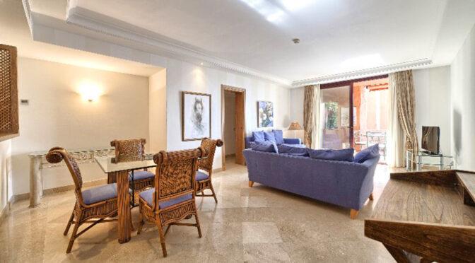 znakomicie zaaranżowane wnętrze ekskluzywnego apartamentu na sprzedaż Hiszpania (Costa Del Sol Malaga)