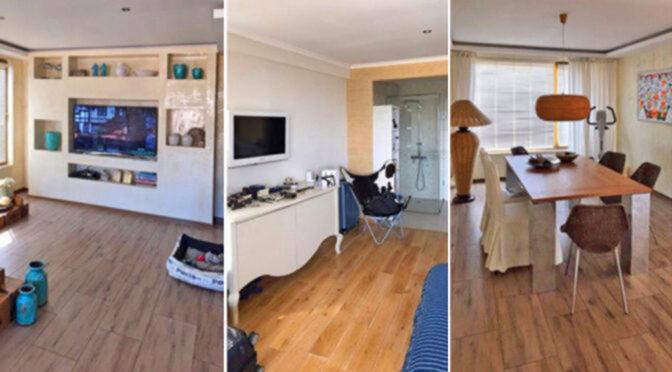 trzy ujęcia luksusowego wnętrza ekskluzywnego apartamentu do sprzedaży Bułgaria (Nessebar)