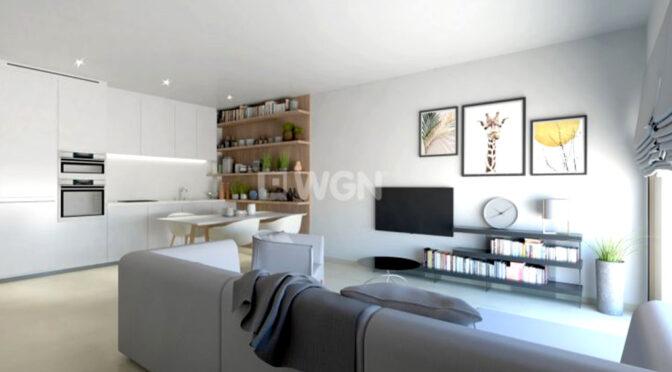 słoneczne i zaprojektowane w śródziemnomorskim stylu wnętrze luksusowego apartamentu do sprzedaży Hiszpania (San Pedro Del Pinata)