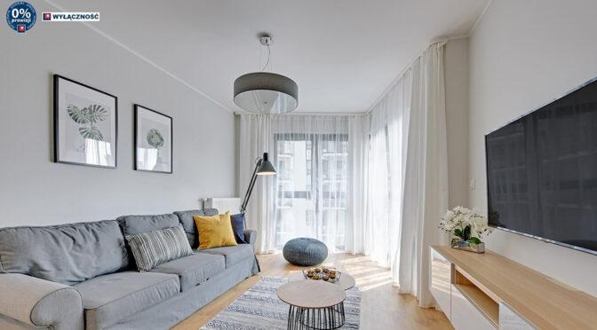 zaaranżowane zgodnie z najnowszymi trendami wnętrze luksusowego apartamentu do sprzedaży Legnica