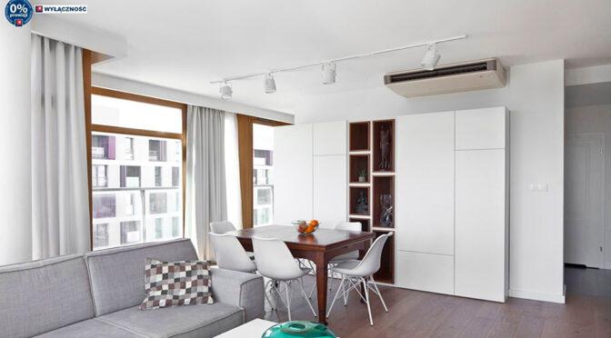 słoneczny pokój gościnny w ekskluzywnym apartamencie do sprzedaży Legnica