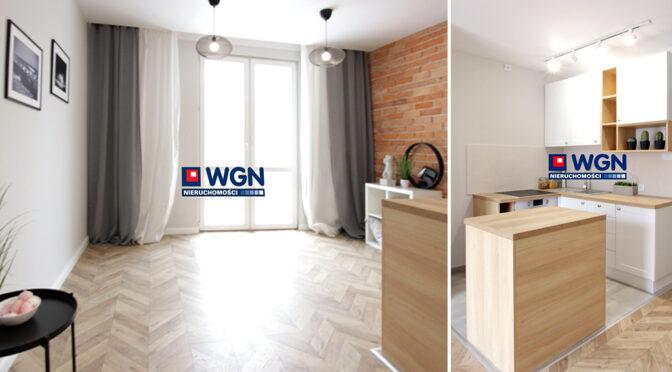 nowoczesna aranżacja wnętrza w ekskluzywnym apartamencie do sprzedaży Lublin (okolice)