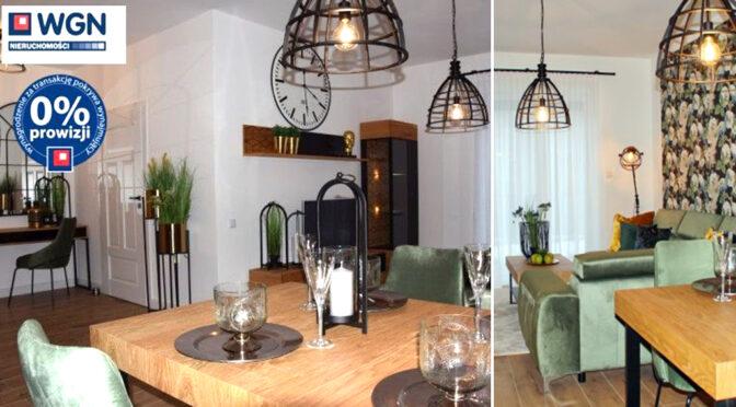 wytworne wnętrze salonu w ekskluzywnym apartamencie do wynajęcia Słupsk