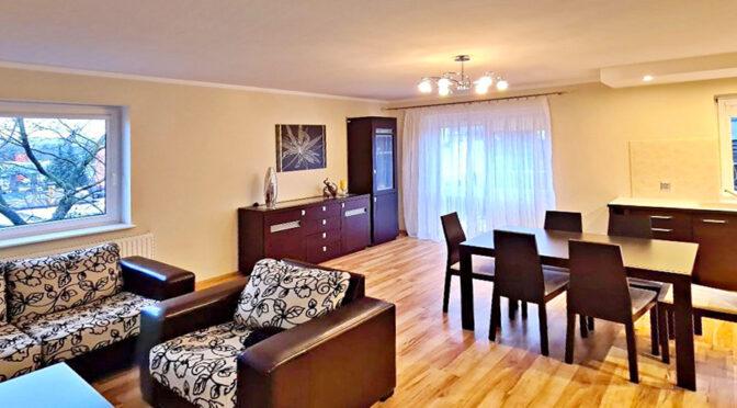 stylowe wnętrze ekskluzywnego apartamentu do wynajęcia Szczecin