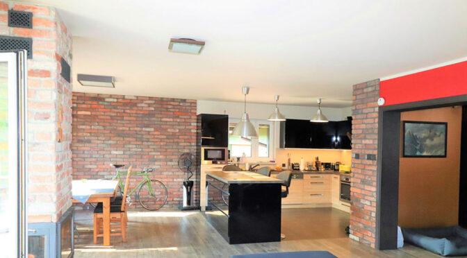 komfortowa przestrzeń wnętrza ekskluzywnej rezydencji na sprzedaż Ustroń
