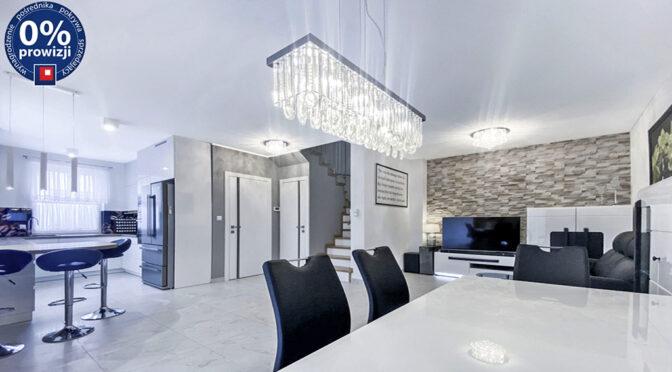 wytworna jadalnia i salon w ekskluzywnej rezydencji do sprzedaży Gliwice (okolice)