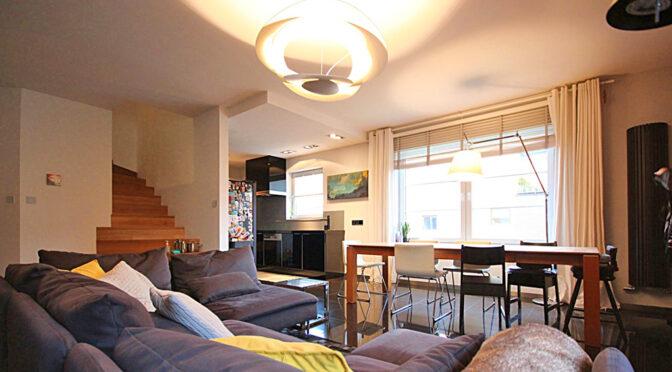 kameralne wnętrze luksusowego apartamentu na sprzedaż Szczecin