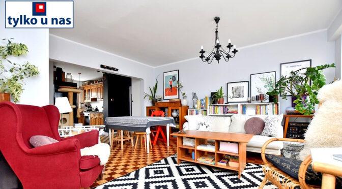 stylowe wnętrze salonu w ekskluzywnym apartamencie do sprzedaży Inowrocław