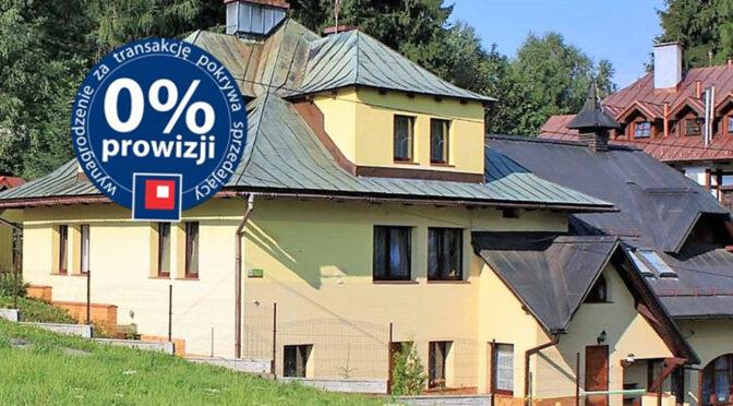 imponująca bryła ekskluzywnej rezydencji na sprzedaż Bielsko-Biała (okolice)