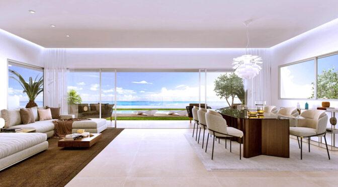ogromny salon w ekskluzywnej rezydencji na sprzedaż Hiszpania