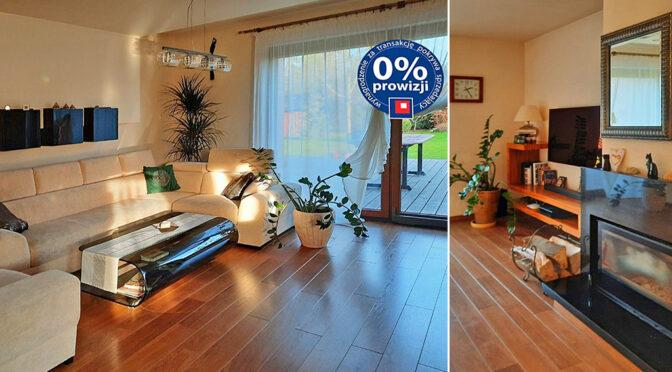 komfortowy salon w luksusowej rezydencji na sprzedaż Legnica (okolice)