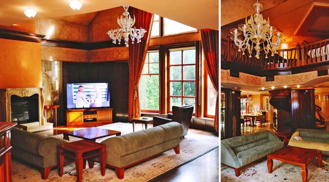 stylowe i wytworne wnętrze luksusowej rezydencji do sprzedaży Częstochowa