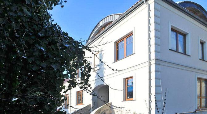 reprezentacyjne wejście do luksusowej rezydencji do sprzedaży Szczecin