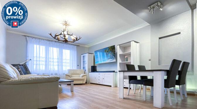 zaprojektowane w nowoczesnym designie wnętrze ekskluzywnego apartamentu na sprzedaż Katowice (okolice)