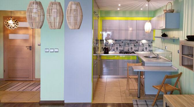 nowocześnie urządzone wnętrze ekskluzywnego apartamentu do sprzedaży Legnica (okolice)