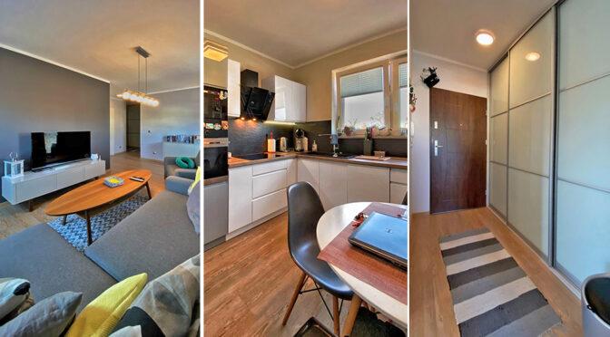 3 ujęcia luksusowego wnętrza tego ekskluzywnego apartamentu na sprzqedaż Świnoujście