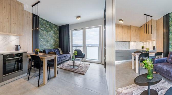 kameralne wnętrze luksusowego apartamentu do wynajęcia Gdańsk