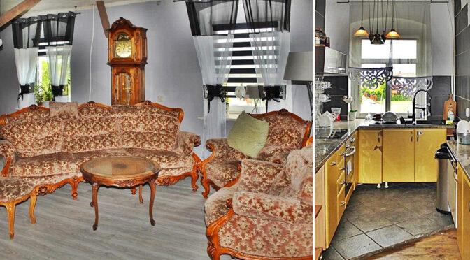 epatujące luksusem wnętrze luksusowej rezydencji na sprzedaż Legnica (okolice)