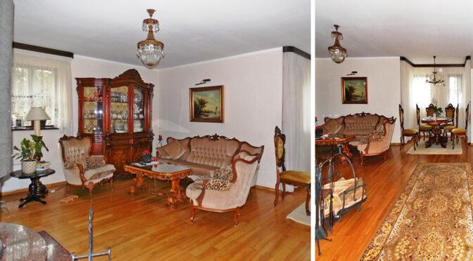 stylowe wnętrze ekskluzywnego apartamentu na sprzedaż Mazury