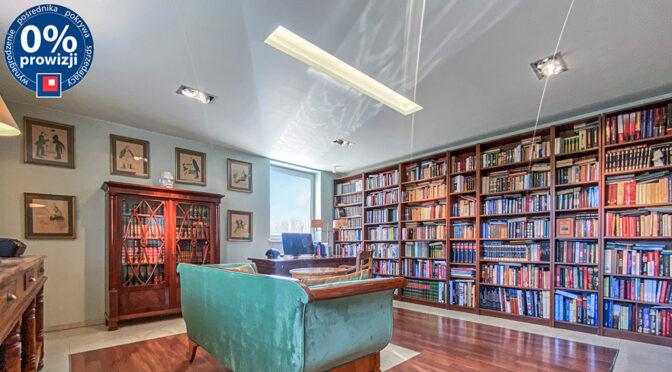 prestiżowa biblioteka w ekskluzywnej rezydencji na sprzedaż Tarnowskie Góry